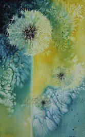 Dandelion Watercolour £80 SOLD
